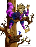 Cheshire Cat Sora -Coloured by Azure-Kire