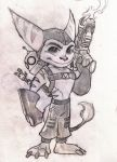 Ratchet and Clank by ZoraSteam