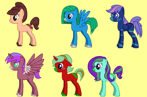 FREE mlp ADOPTS by FrankinPoodle