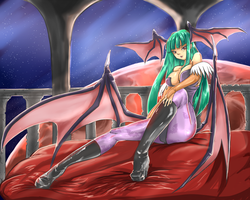 Radiant Morrigan by Nehis