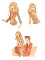Doctor Who doodles by TwilightSaphir