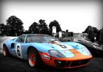 FORD RACING GULF GT40 by nelo1988