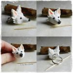 Dog Ring Commission by oOMetalbrideOo
