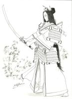 Samurai Girl by Samael1103