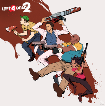 Left 4 dead 2 by 2gold