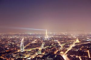Paris by night by arianneharris