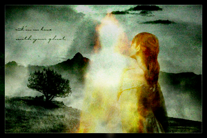 Nerdanel and Feanor: Ghost by LadyElleth