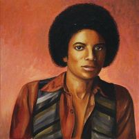 Michael Jackson - the teenager by aportraitforyou