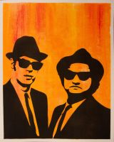 Blues Brothers by captainmarsh