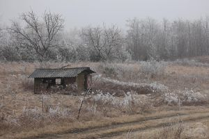 The Old Shack as Winter Pagent by HoremWeb