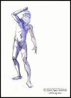 Figure Drawing- Elder Male 02 by Cre8tivemarks