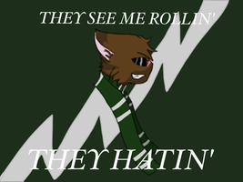 Tigerstar's #SlytherinPride by TheEaglefeather