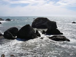 Beach: Offshore Rocks5 by sc4mp1