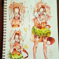 Suki Ume design #2 by SakuraNekonessess