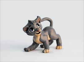 Kattja sculpture by Kamirah