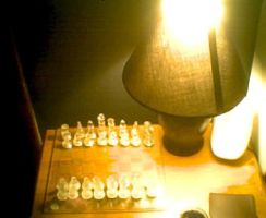 Glass Chess Set by Bebop27