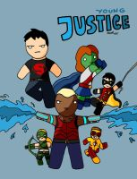 Young Justice by Mattmadeacomic