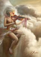 The Melody of Heaven by maril1