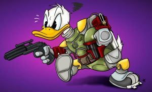 Duck Fett by takren