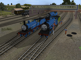 The Three Railway Engines by SkarloeyRailway