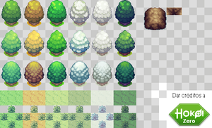 Season and Environment RPG tiles by LTSeraa