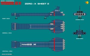 Gerry Andersons Thunderbirds Are Go Zero-X Sheet 2 by ArthurTwosheds
