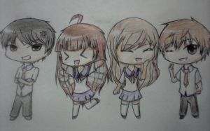 Diary ng Panget (Diary of the Ugly) Chibis :DDD by Anodite