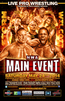 NWA Main Event Poster by TheIronSkull