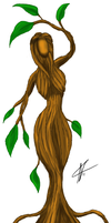 Dryad color by Zegovia