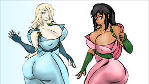Rosalina and Elizuke are all system go by Elizuke94