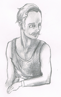 mustache guy sketch by iscaylis