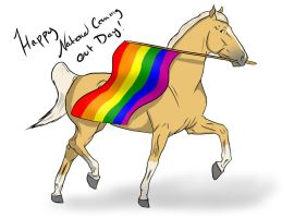 National Coming Out Day! by S1oane