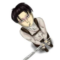 Levi sketch color by yukimeyaoi
