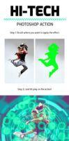 Hi-Tech Photoshop Action by UnicDesign95
