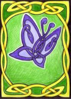 Celtic Knotwork Butterfly by ankewehner
