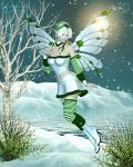 Wintry Whimsy by RavenMoonDesigns