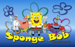 Sponge Bob Wallpaper by brianmccumber