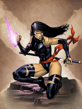 Psylocke by spidermanfan2099