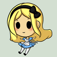 Alice Chibi by SweetUndine