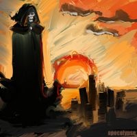 Death over the Broken City by toasty