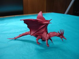 Origami Ancient Dragon by origami-artist-galen