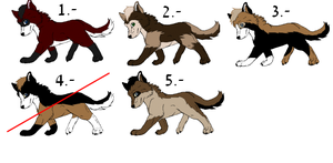 Adoptables-(Closed) by ArticWolf14