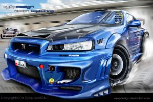 Nissan Skyline by eyupdesign