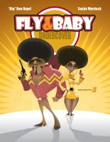 Fly and Baby Undercover by braeonArt