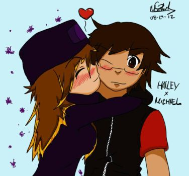 Hailey and I x) by TheUndeadArtist