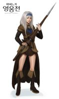 Mabinogi Heroes Season 3 - New Hero Ceciliacott by ArtNotHearts