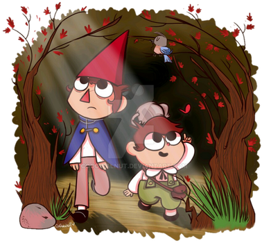 Over The Garden Wall by Cocowalnut