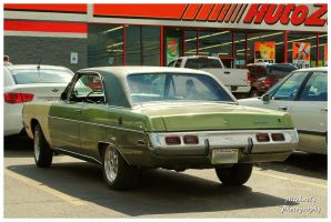 A Green Dodge Dart by TheMan268