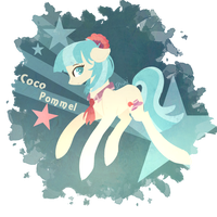 Coco Pommel Print by Invisible-11