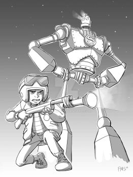 Iron Giant by fillmarc